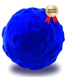 Rubbabu Alpha Learn Ball Uppercase Blue - 10 cm