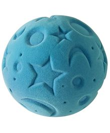Rubbabu Natural Rubber Foam Turquoise Starry Night Ball - 10 Cm