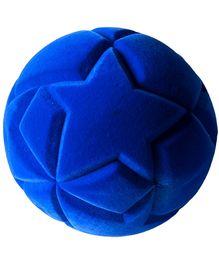 Rubbabu Natural Rubber Foam Blue Star Ball - 10 Cm