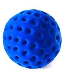 Rubbabu Natural Rubber Foam Blue Dotty Ball - 10 Cm