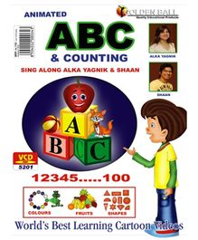 Golden Ball Animated ABC And Counting VCD