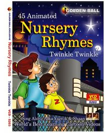 Golden Ball Animated Nursery Rhyme Twinkle Twinkle - VCD