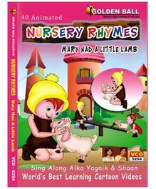 Golden Ball Animated Nursery Rhymes Mary Had A Little Lamb - VCD