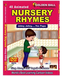 Golden Ball 40 Animated Nursery Rhymes DVD