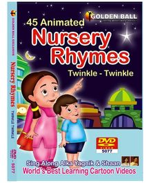 Golden Ball 45 Animated Nursery Rhymes DVD