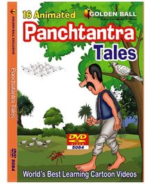 Golden Ball 16 Animated Panchtantra Tales DVD