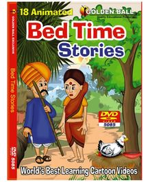 Golden Ball 18 Animated Bed Times Stories DVD