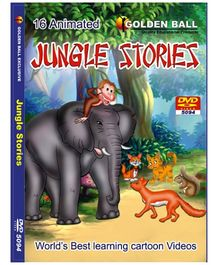 Golden Ball 16 Animated Jungle Stories DVD
