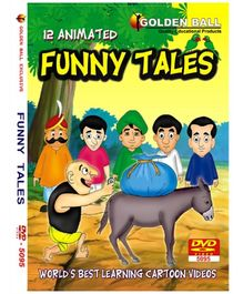 Golden Ball 12 Animated Funny Tales DVD