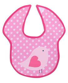 Honey Bunny Easy Clean Bib - Pink