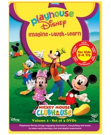 Sony Play House Disney Mickey Mouse Clubhouse - Set Of 3 DVD