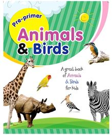 Future Books Pre-Primer Animals And Birds Book - English