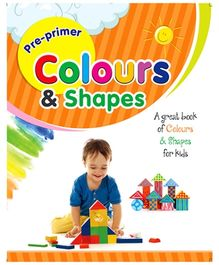 Future Books Pre-Primer Colors And Shapes Book - English