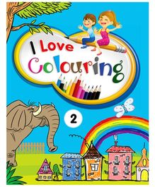 Future Books I Love Colouring 2 - English
