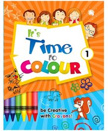 Future Books It's Time To Colour 1 - English