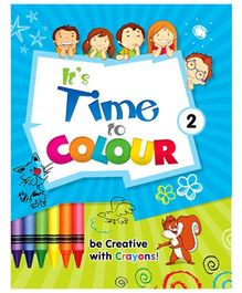 Future Books Its Time To Color Book 2 - English