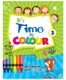 Future Books Its Time To Color Book 3 - English