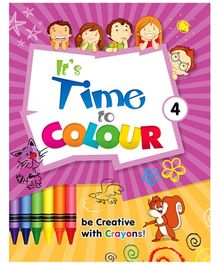 Future Books Its Time To Colour 4 - English