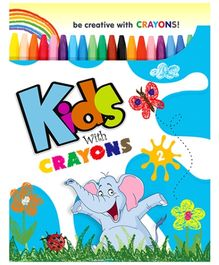 Future Books Kids With Crayons 2 - English