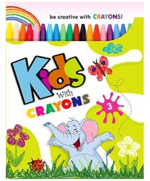 Future Books Kids With Crayon Book 3 - English