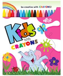 Future Books Kids With Crayon Book 4 - English