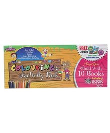 Future Books Narmada Colouring And Activity Pack - Free 2 DVDs