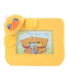 Fab N Funky Duck Face Rectangle Photo Frame - Yellow