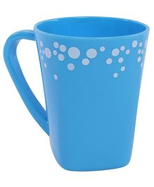 Fab N Funky Blue Dots Print Baby Cup