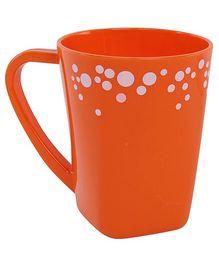 Fab N Funky Orange Dots Print Baby Cup