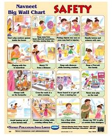 NavNeet Big Wall Chart Safety - English