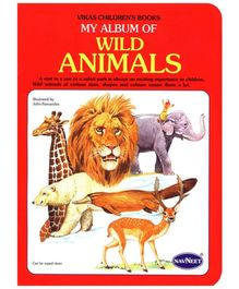 NavNeet My Album Of Wild Animals - English