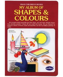 NavNeet My Album Of Shapes And Colours - English