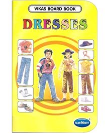 NavNeet Vikas Board Book Dresses - English