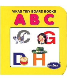 NavNeet Vikas Tiny Board Books ABC - English