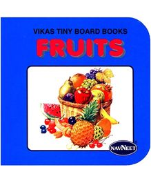 NavNeet Vikas Tiny Board Books Fruits - English