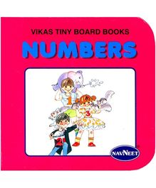 NavNeet Vikas Tiny Board Books Numbers - English