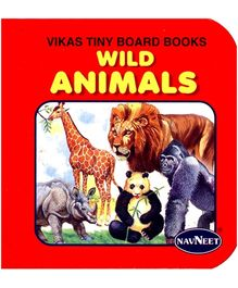 NavNeet Vikas Tiny Board Books Wild Animals - English