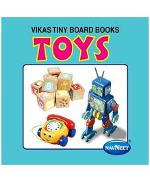 NavNeet Vikas Tiny Board Books Toys - English