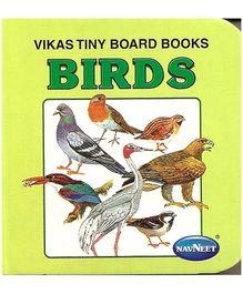 NavNeet Vikas Tiny Board Books Birds - English