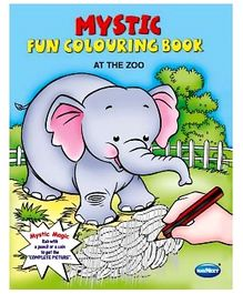 NavNeet Mystic Fun Colouring Book At The Zoo - English