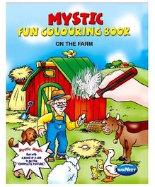 NavNeet Mystic Fun Colouring Book On The Farm - English