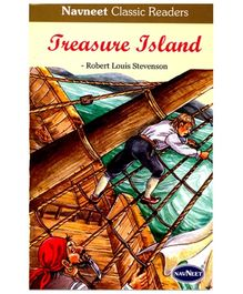 NavNeet Classic Readers Treasure Island - English