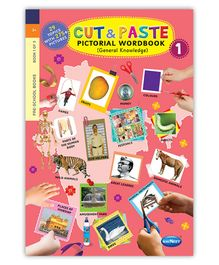 NavNeet Cut And Paste Pictorial Workbook Part 1 - English