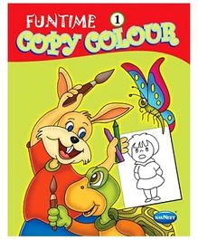 Funtime Copy Colour Book 1 - English