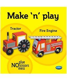 NavNeet Make N Play Tractor and Fire Engine