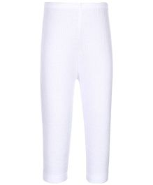 Kanvin White Full Length Thermal Legging