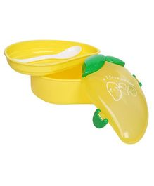 Fab N Funky Lunch Box With Spoon - Mango Pattern