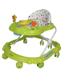 Sunbaby Ride-On Walker With Play Tray - Green
