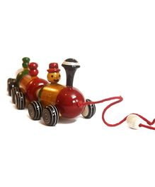 Aatike Boogie Woogie Colorful Indian Wooden Train