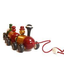 Aatike Boogie Woogie Colorful Indian Wooden Train